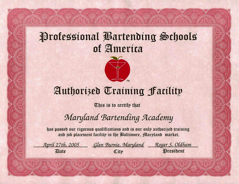 Why Choose Us Maryland Bartending Academy