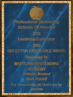 PBSA Quest for Excellence Award